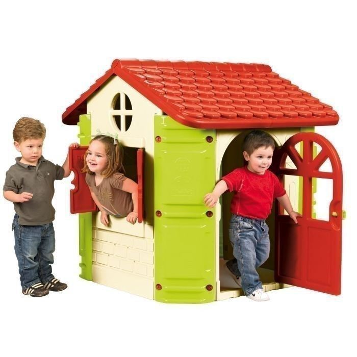 petite maison de jardin en plastique