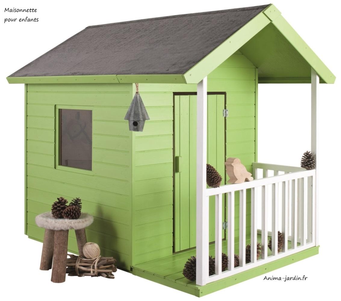 petite maison en bois pour jardin