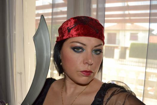 pirate femme maquillage
