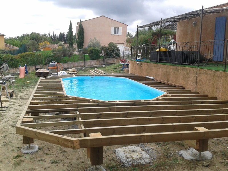 piscine bois destockage
