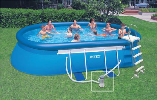 piscine ovale intex
