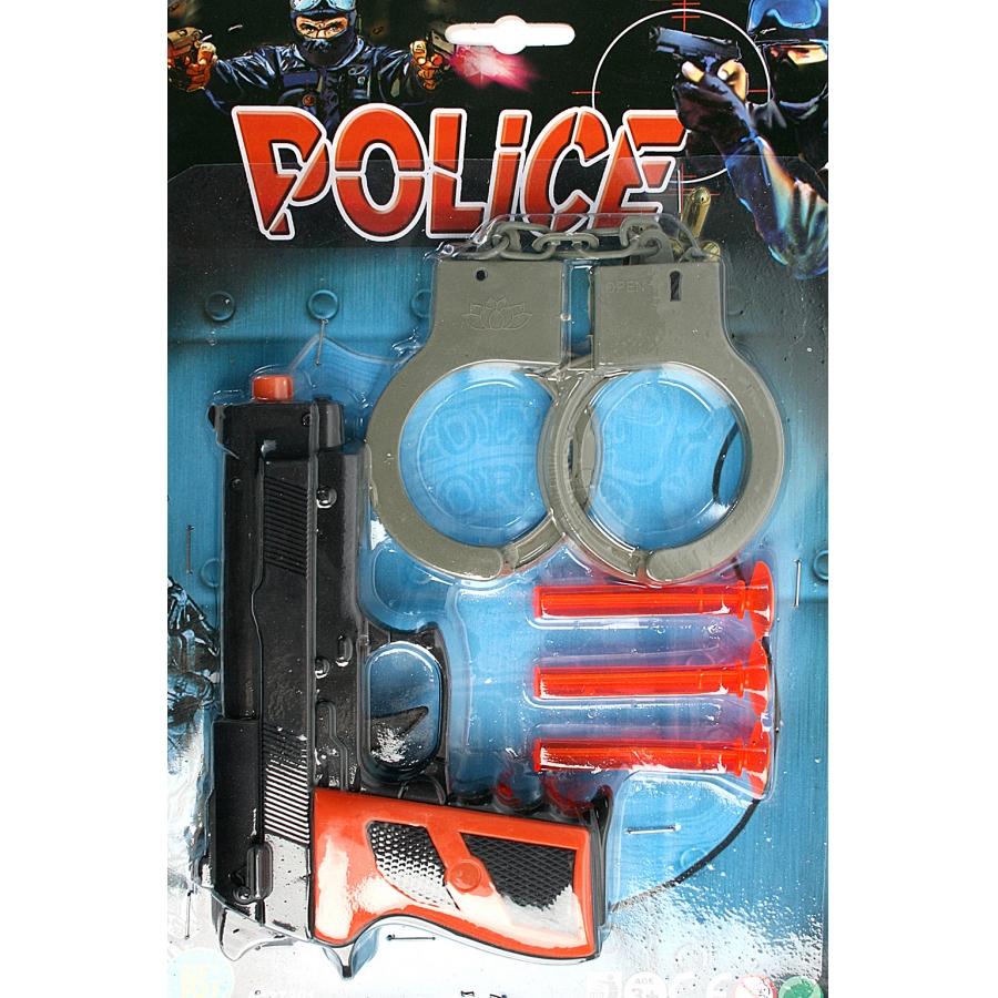 pistolet a paillette jouet