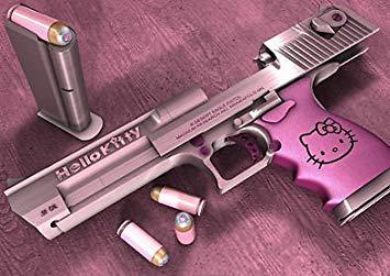 pistolet hello kitty