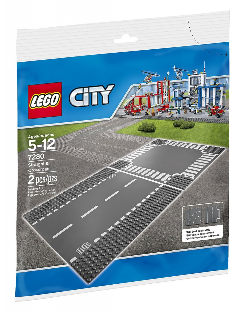 plaque lego city
