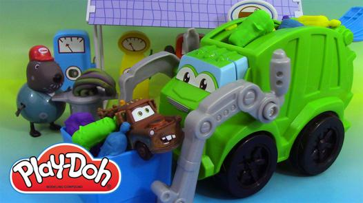 play doh camion poubelle