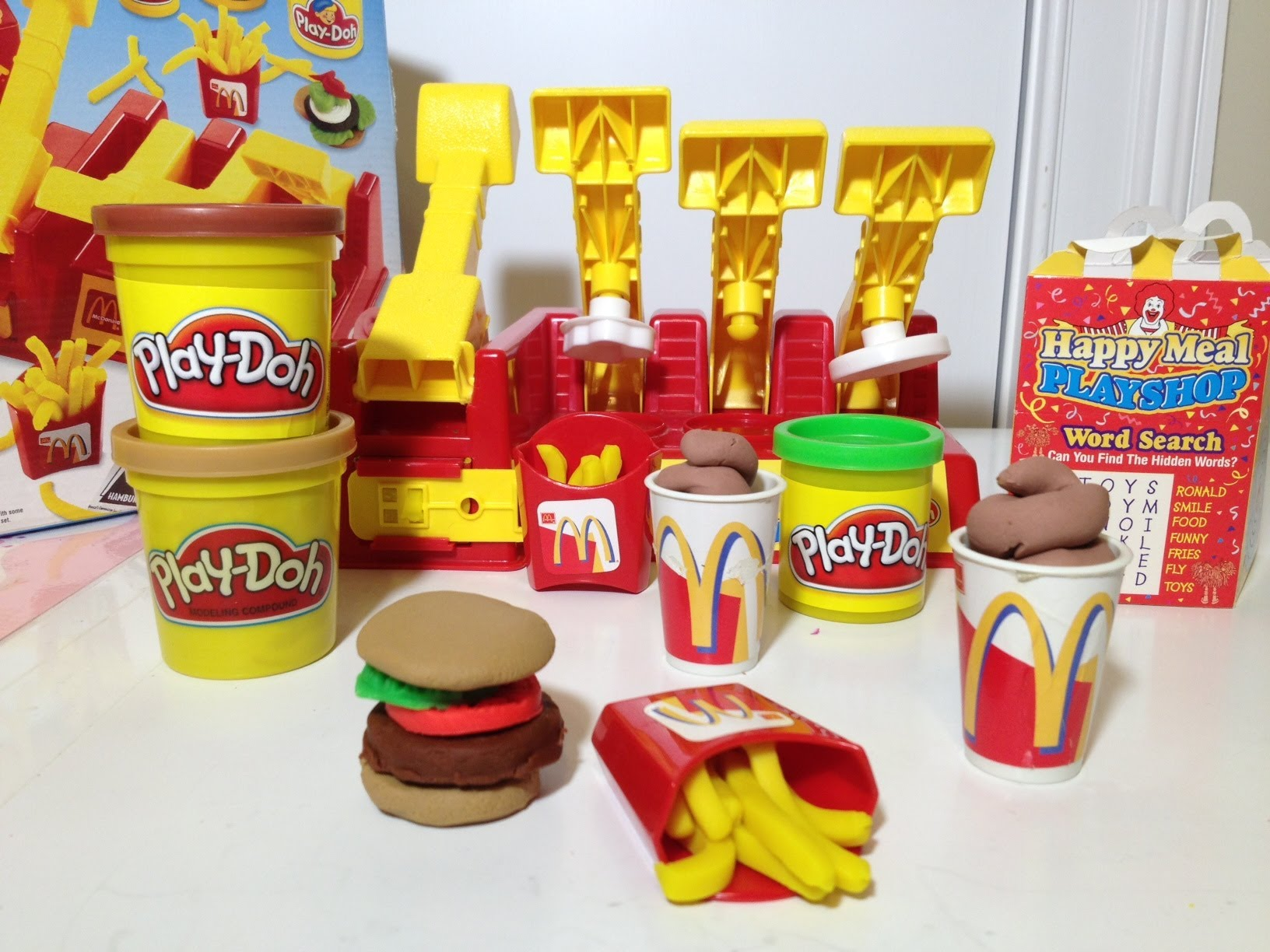 play doh mcdonald's