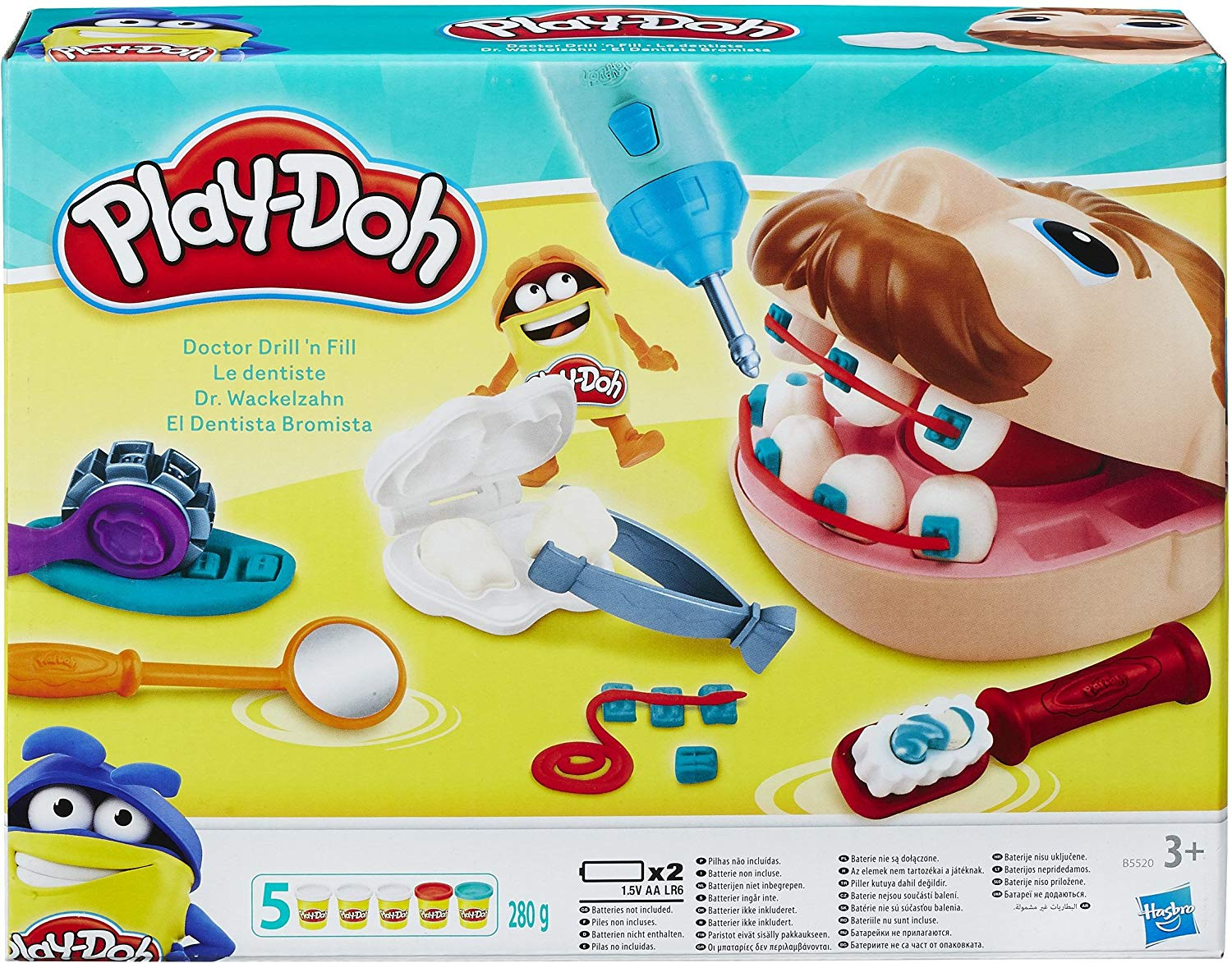 playdoh b5520eu40 le dentiste