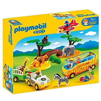 playmobil 123 animaux de la savane