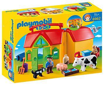 playmobil 123 la ferme