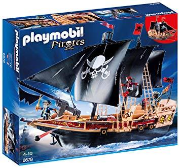 playmobil 6678 bateau pirates des ténèbres