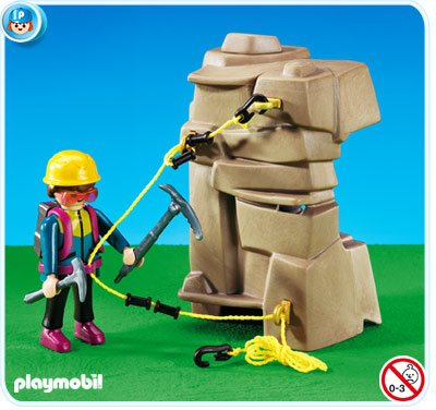 playmobil alpiniste