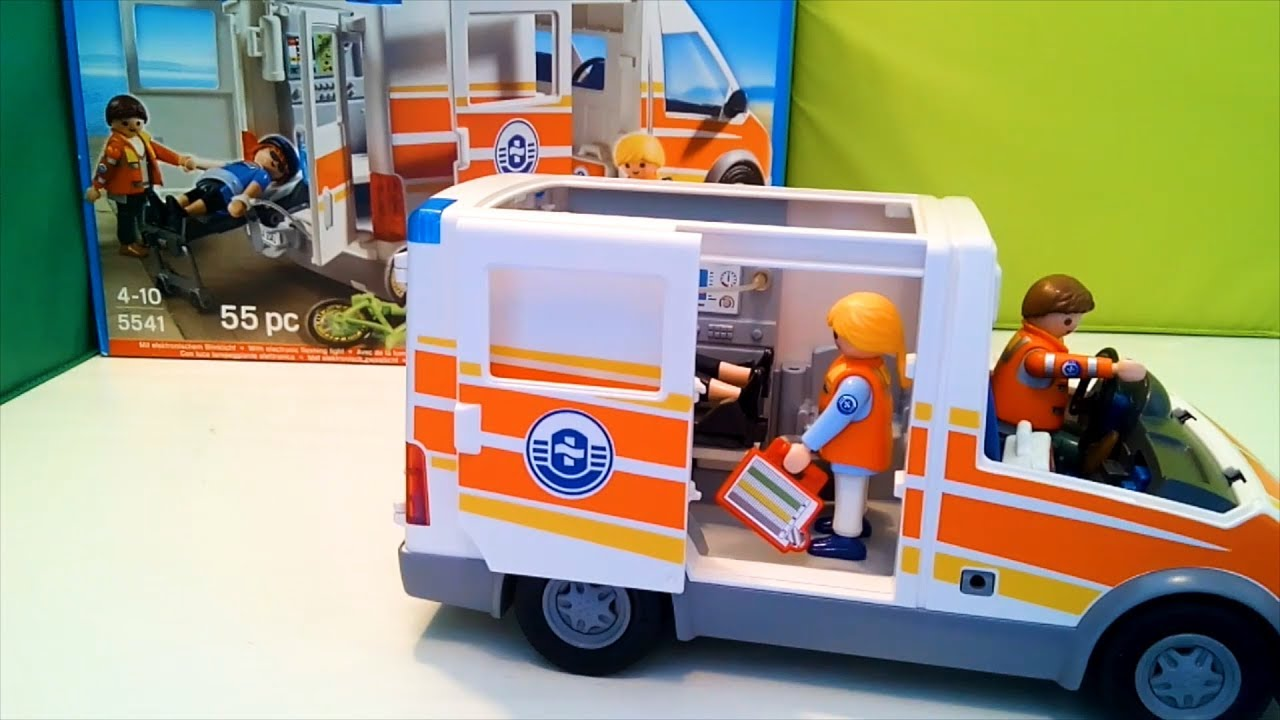 playmobil ambulance video