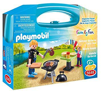 playmobil barbecue