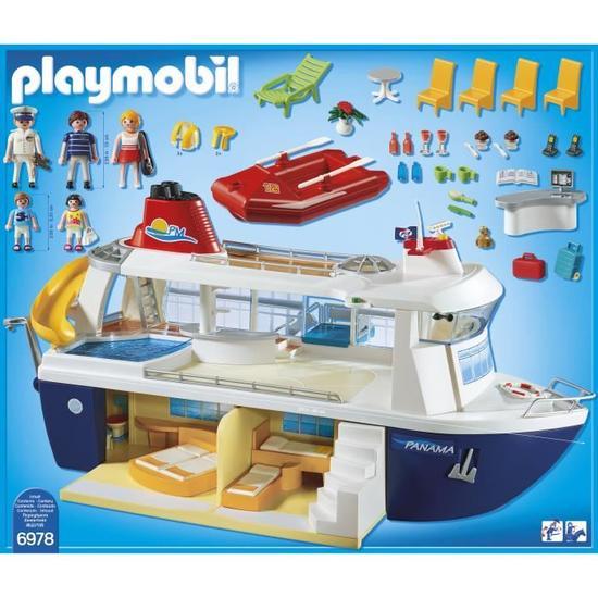 playmobil bateau de croisiere