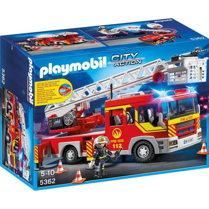 playmobil camion pompier