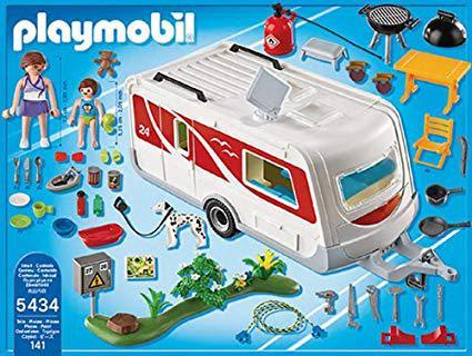 playmobil caravane