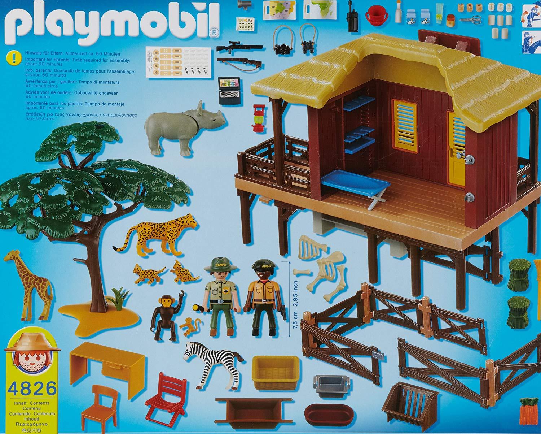 playmobil centre de soins pour animaux sauvages