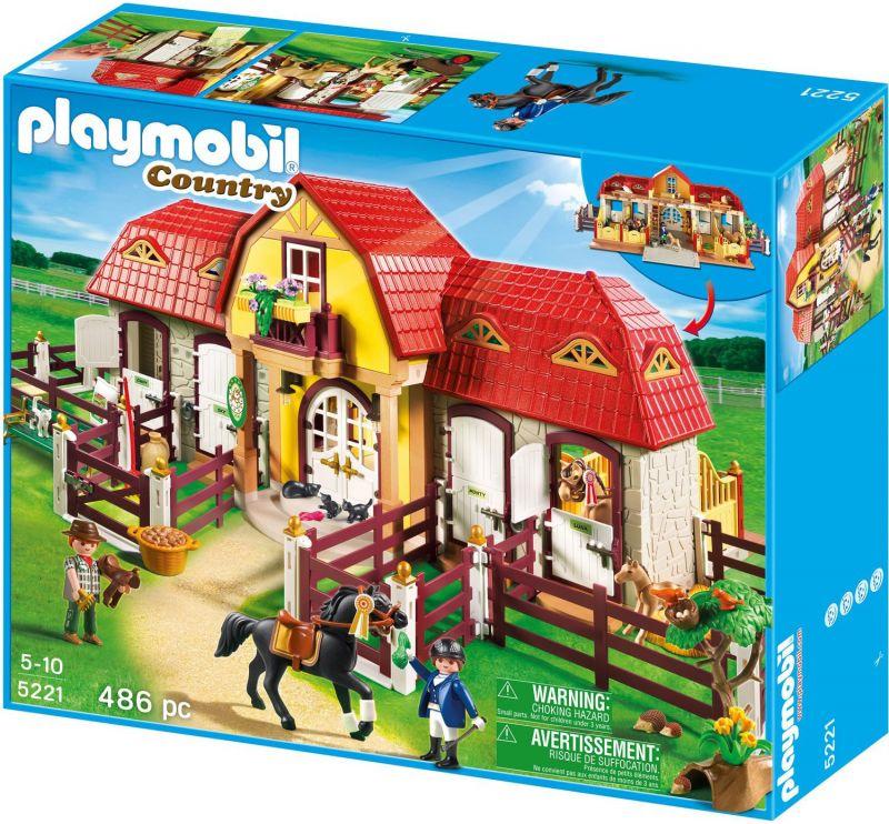 playmobil centre equestre