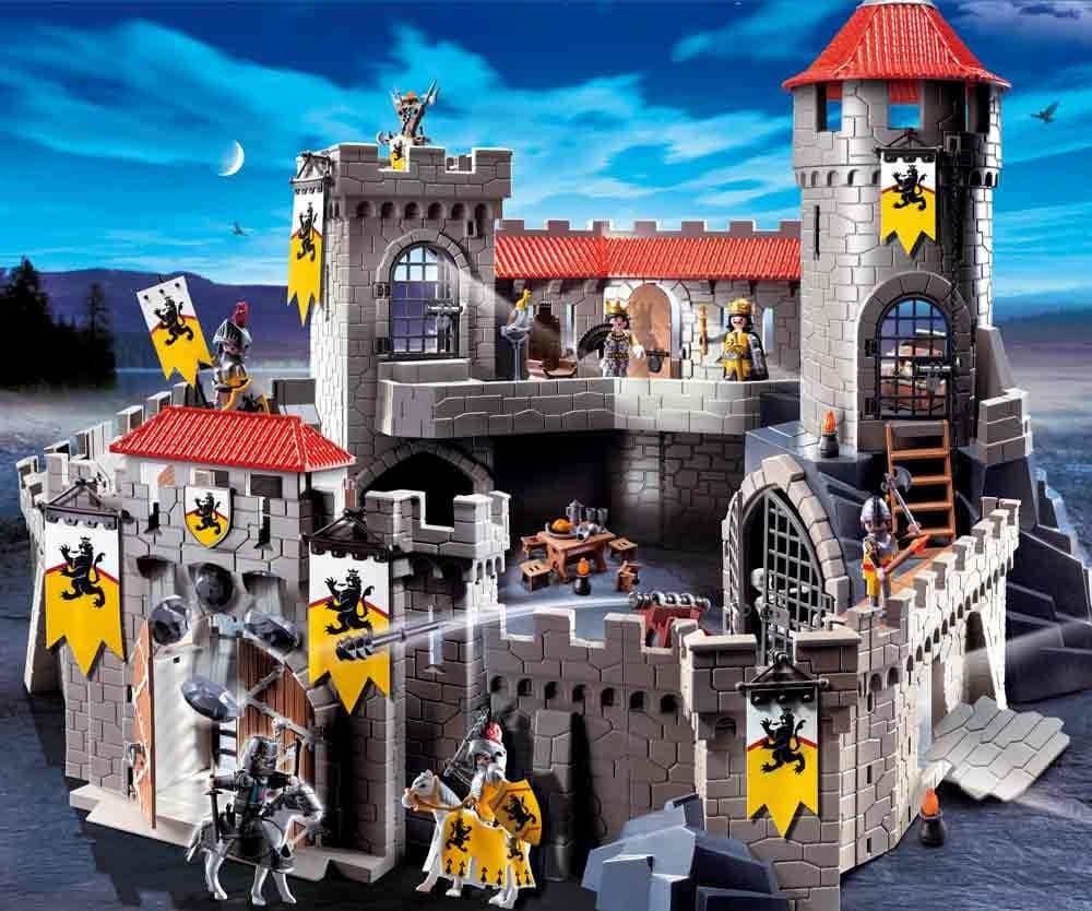 playmobil chateau fort des chevaliers du lion