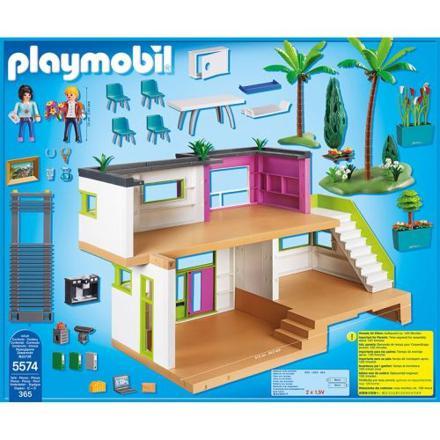 playmobil city life maison moderne