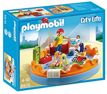 playmobil creche
