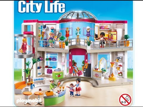 playmobil fille centre commercial