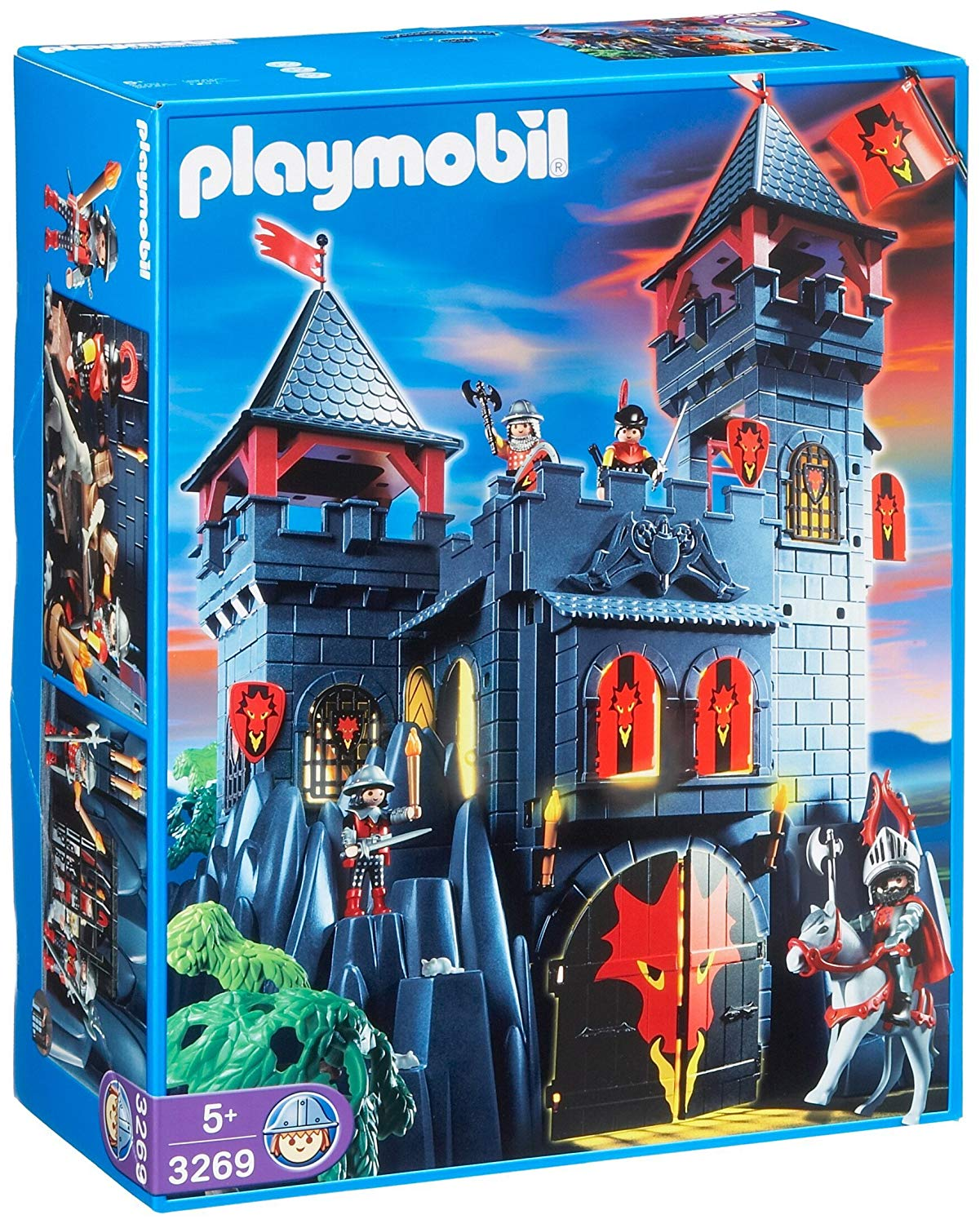 playmobil forteresse dragon