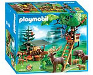 playmobil garde forestier