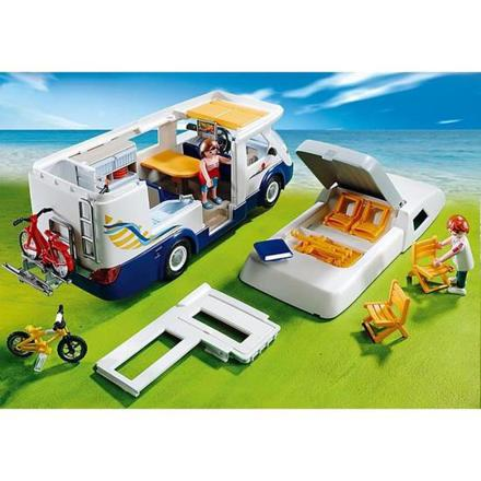 playmobil grand camping car familial