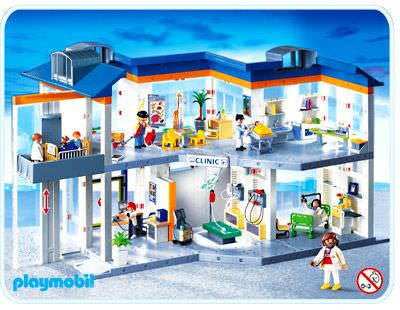 playmobil grand hopital