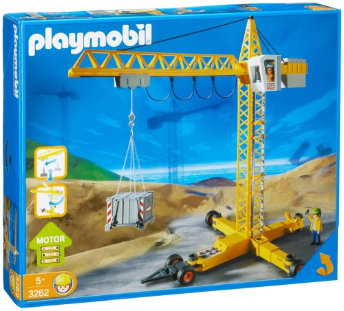 playmobil grue de chantier
