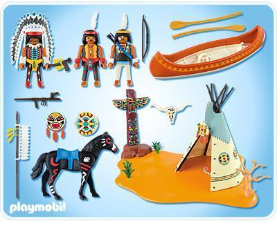 playmobil indien 4012