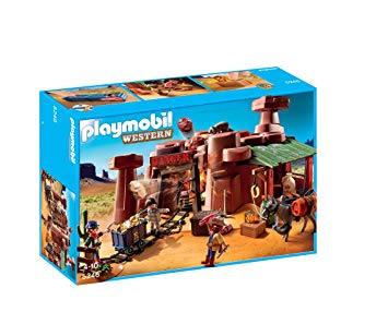 playmobil mine d or