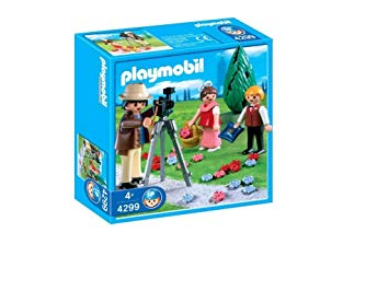 playmobil photographe