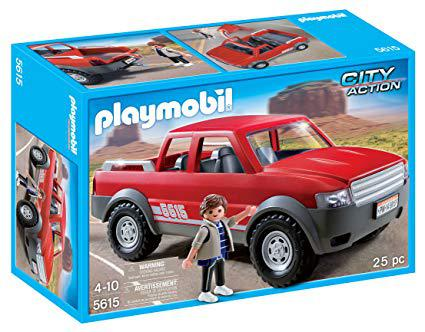playmobil pick up