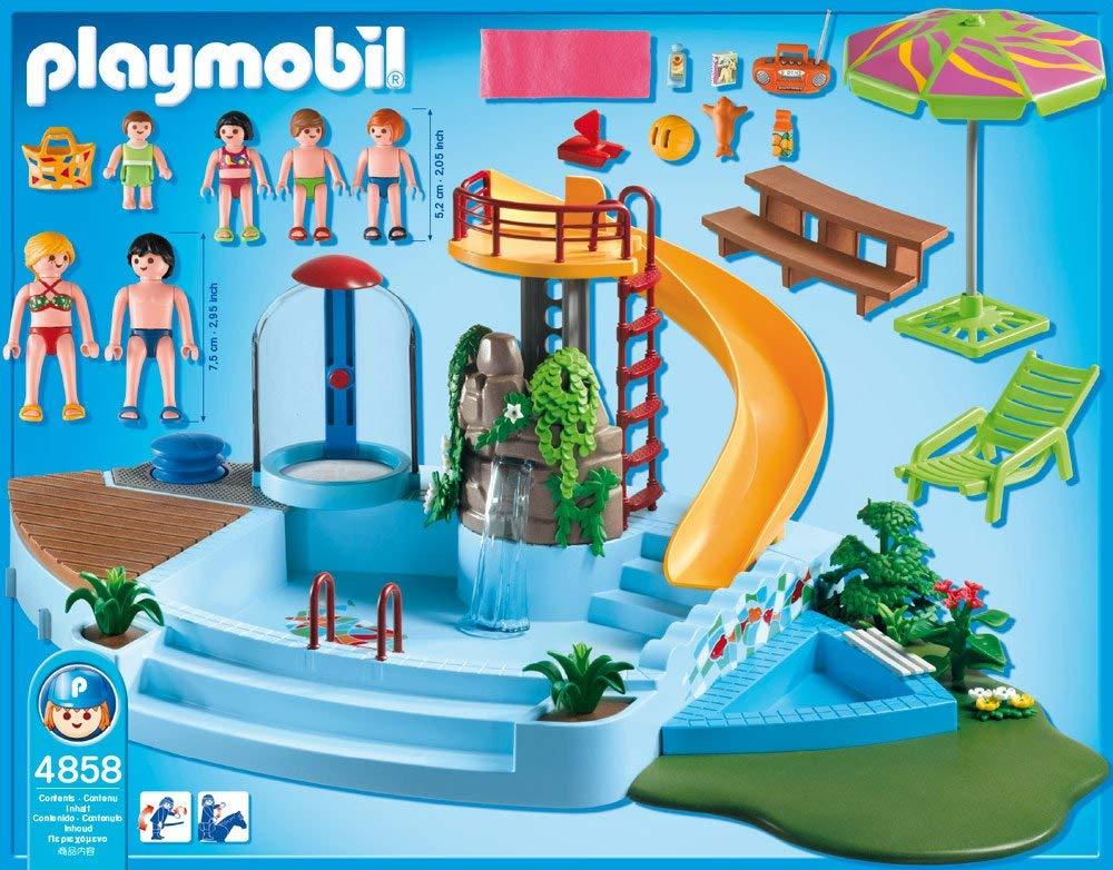 playmobil piscine 4858