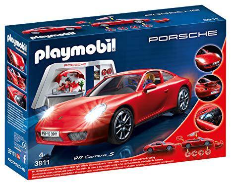 playmobil porsche rouge