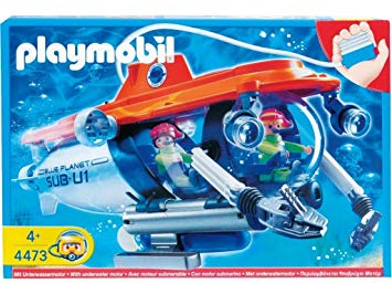 playmobil sous marin