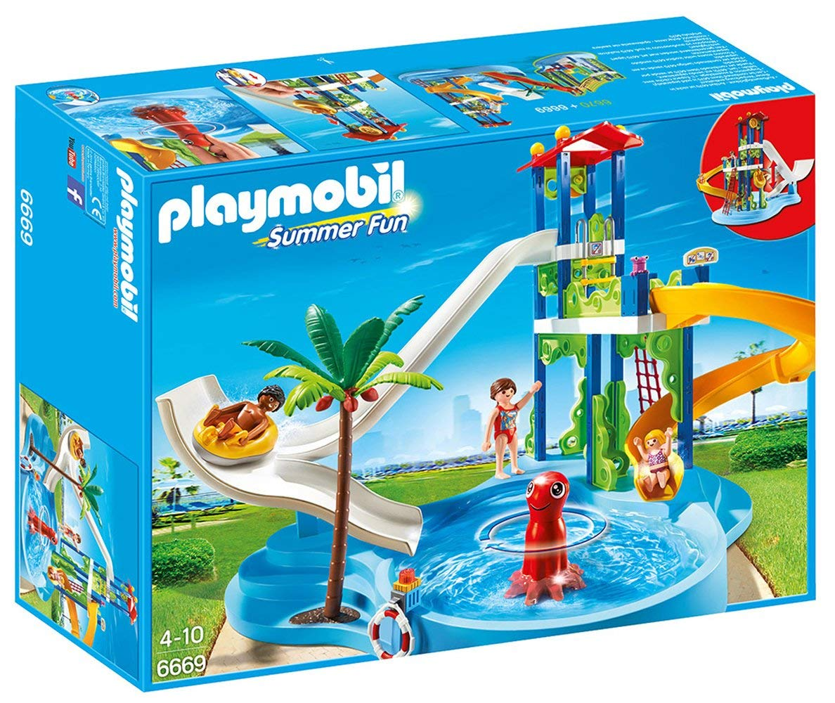 playmobil toboggan
