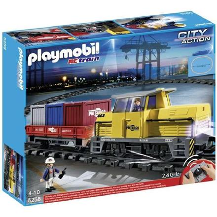 playmobil train electrique