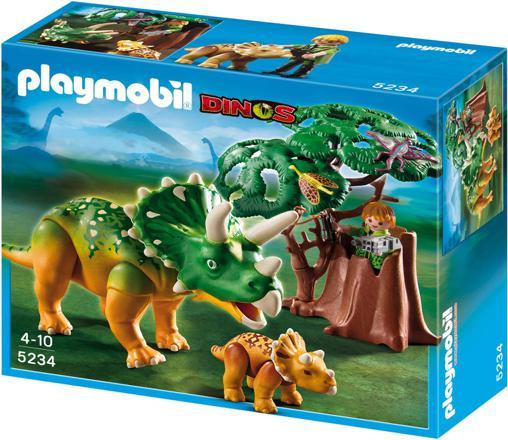 playmobil triceratops