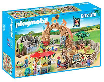 playmobile zoo