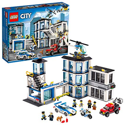 police en lego