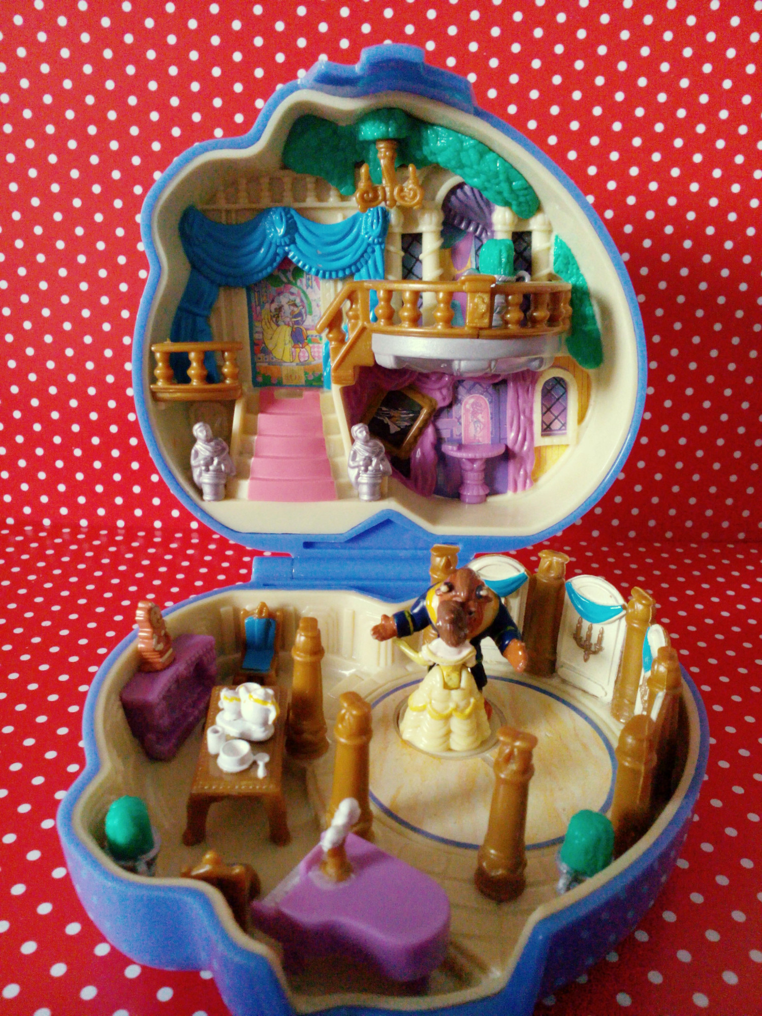 polly pocket la belle et la bête
