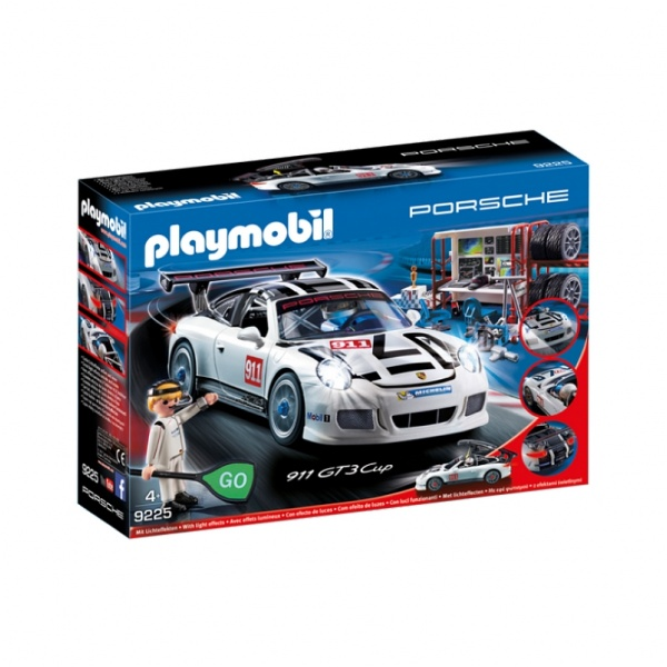 porsche playmobil blanche