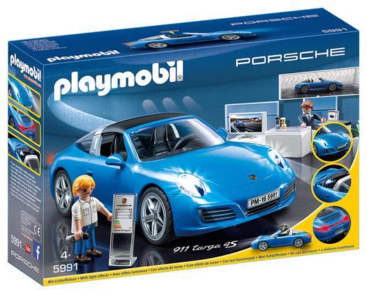 porsche playmobil bleu