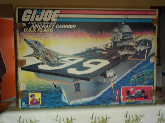porte avion gi joe a vendre
