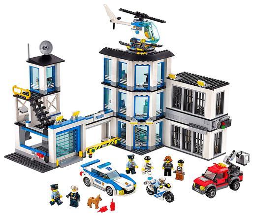 poste police lego
