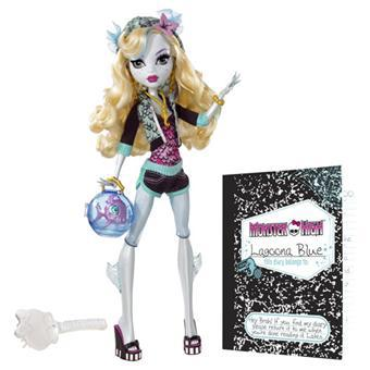 poupeé monster high lagoona blue