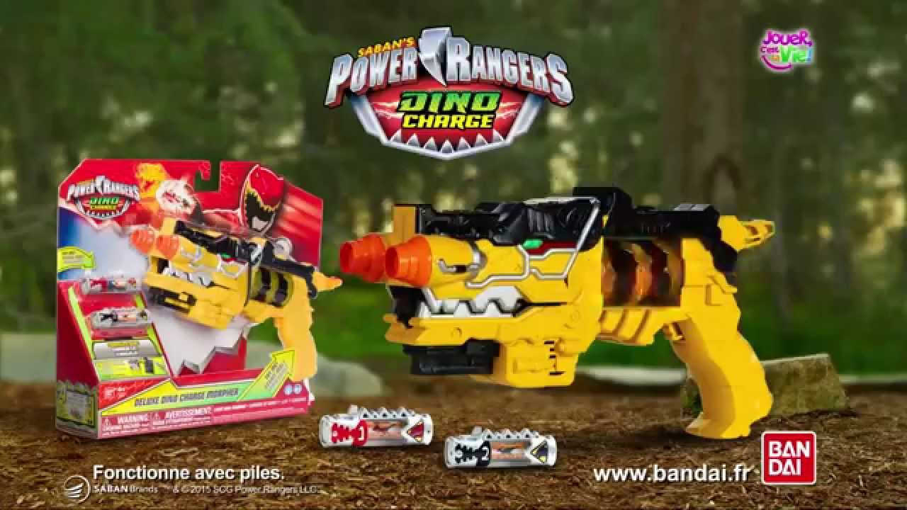 power ranger dino charge pistolet